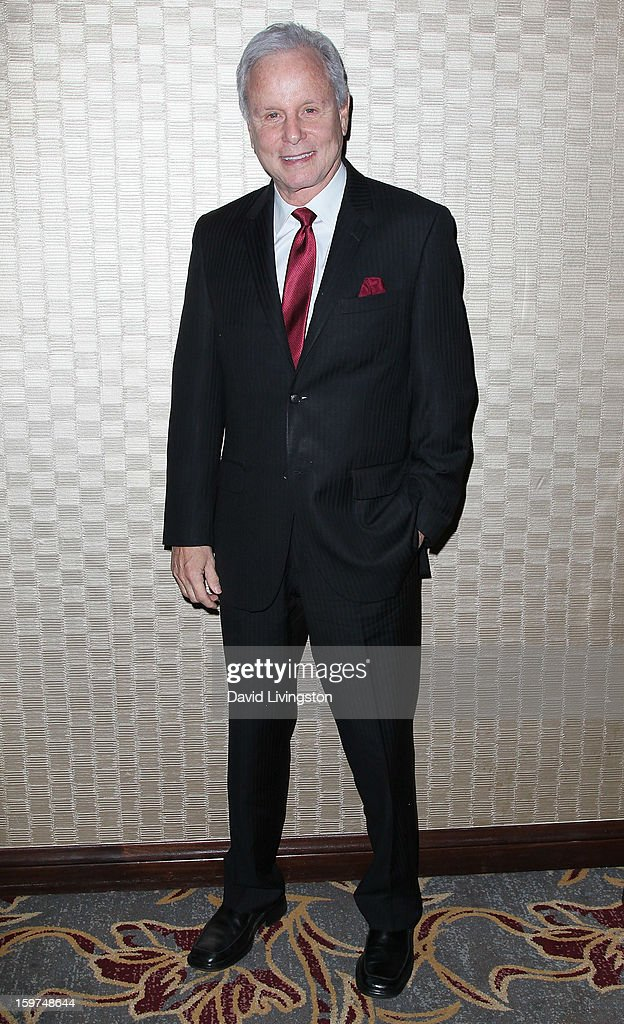 Lifetime Achievement Award honoree TV personality Steve Edwards attends the Radio & Television News Association of Southern California's 63rd Annual Golden Mike Awards at Universal City Hilton & Towers on January 19, 2013 in Universal City, California.