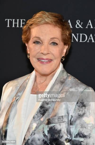 Lifetime Achievement Award recipient Julie Andrews attends Lifetime Achievement Award Reception at Suna Residence during Hamptons International Film...