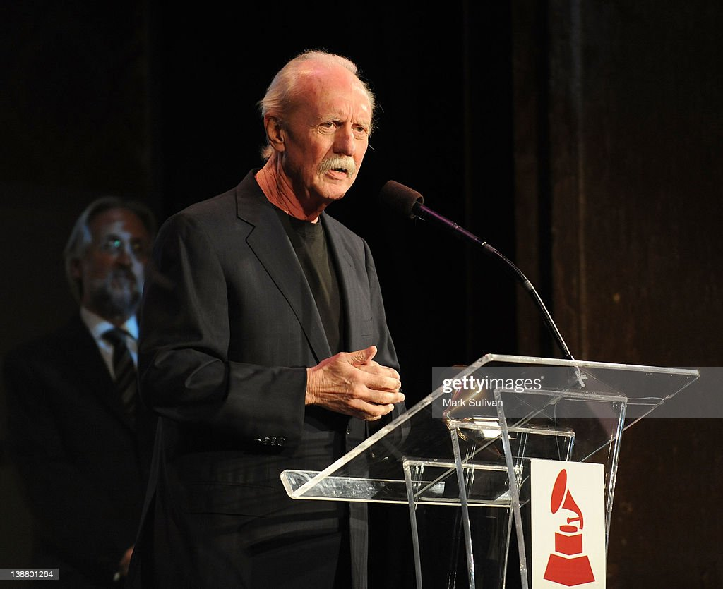Lifetime Achievement Award winner 'Butch' Trucks accepts his GRAMMY at The 54th Annual GRAMMY Awards - Special Merit Awards Ceremony at The Wilshire Ebell Theatre on February 11, 2012 in Los Angeles, California.