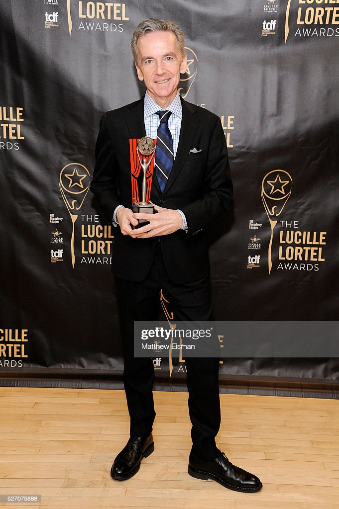 Lifetime Achievement Award winner James Houghton attends the 31st Annual Lucille Lortel Awards at NYU Skirball Center on May 1, 2016 in New York City.