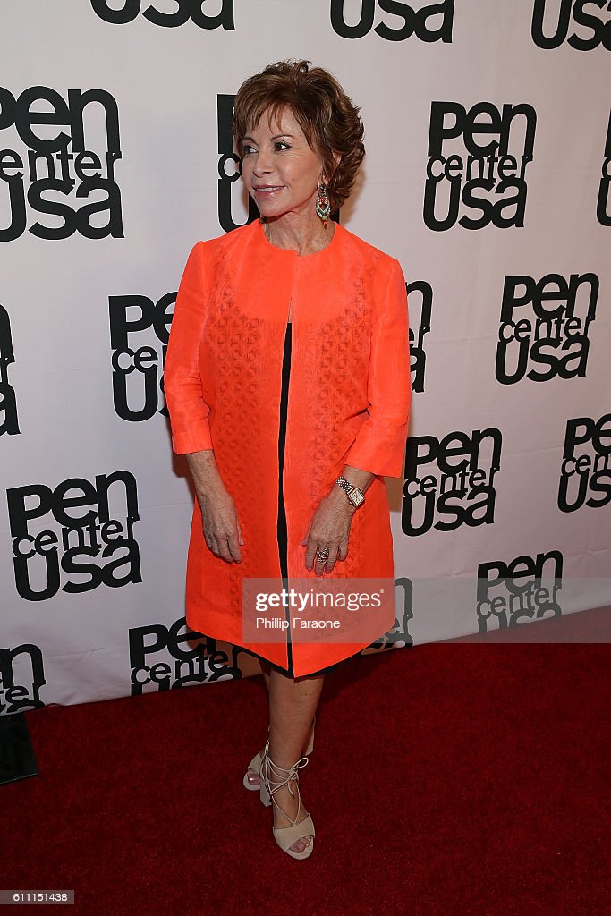 Lifetime Achievement Honoree Isabel Allende attends PEN Center USA's 26th Annual Literary Awards Festival honoring Isabel Allende at the Beverly Wilshire Four Seasons Hotel on September 28, 2016 in Beverly Hills, California.