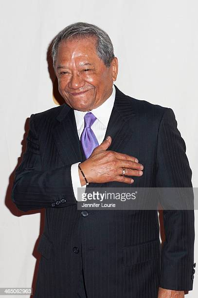 Lifetime Achievement recipient Armando Manzanero attends the GRAMMY Foundation's Special Merit Awards ceremony at The Wilshire Ebell Theatre on...