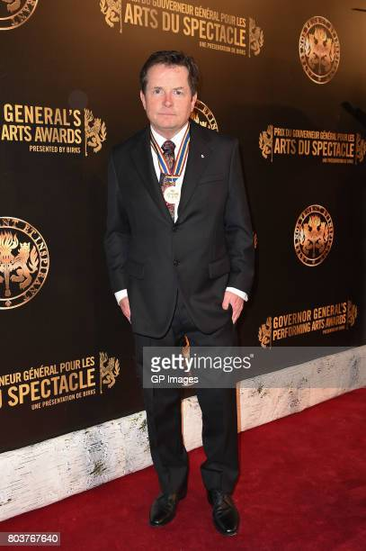 Lifetime Artistic Achievement Award recipient Michael J Fox attends the Governor General's Awards 25th Anniversary Gala at National Arts Centre on...