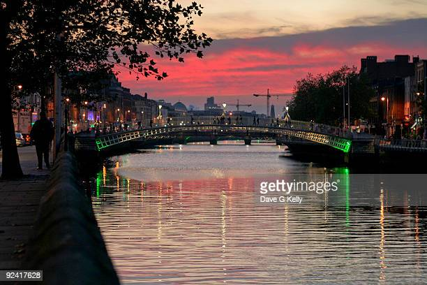 Liffey Sunset