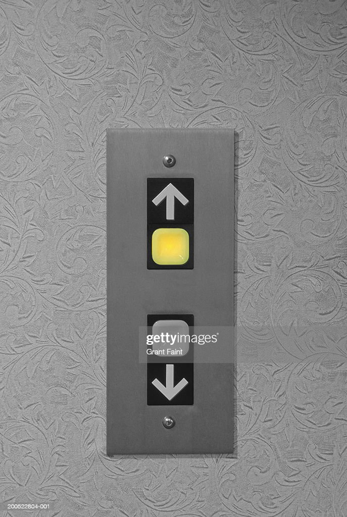 Lift buttons, close-up