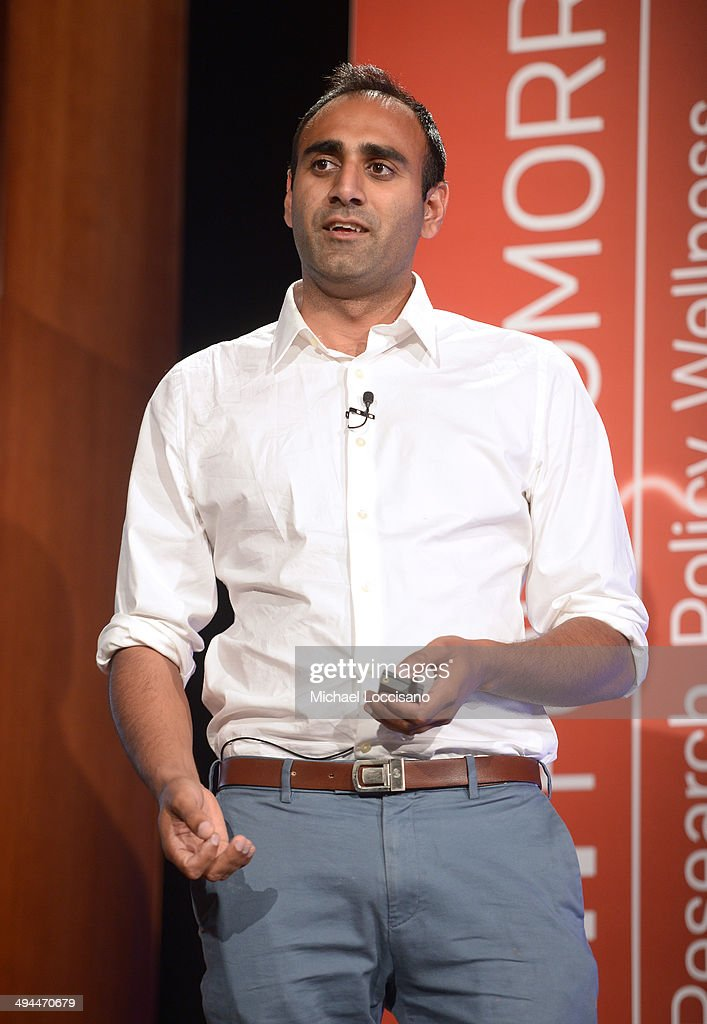 LiftLabs Founder Anupam Pathak speaks onstage during The New York Times Health For Tomorrow Conference at Mission Bay Conference Center at UCSF on May 29, 2014 in San Francisco, California.