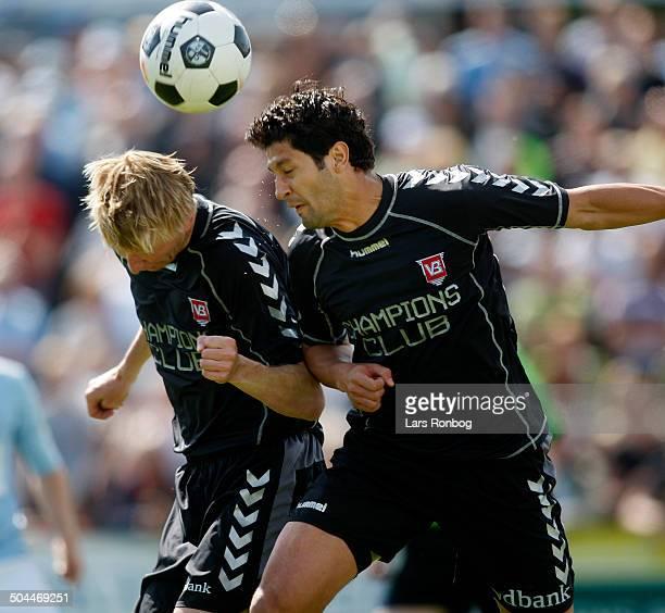 Liga Allan Gaarde VB Vejle Boldklub Valentino Lai VB Vejle Boldklub © Lars Rønbøg / Frontzonesport