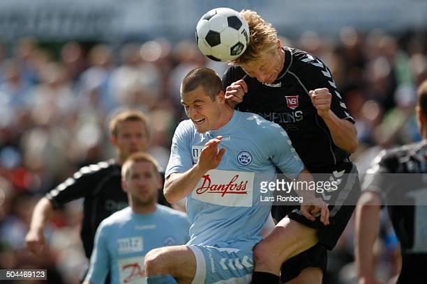 Liga Anders Egholm SønderjyskE Allan Gaarde VB Vejle Boldklub © Lars Rønbøg / Frontzonesport