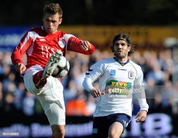 Liga Peter Graulund AGF Jim Larsen Silkeborg IF © Lars Rønbøg / Frontzonesport