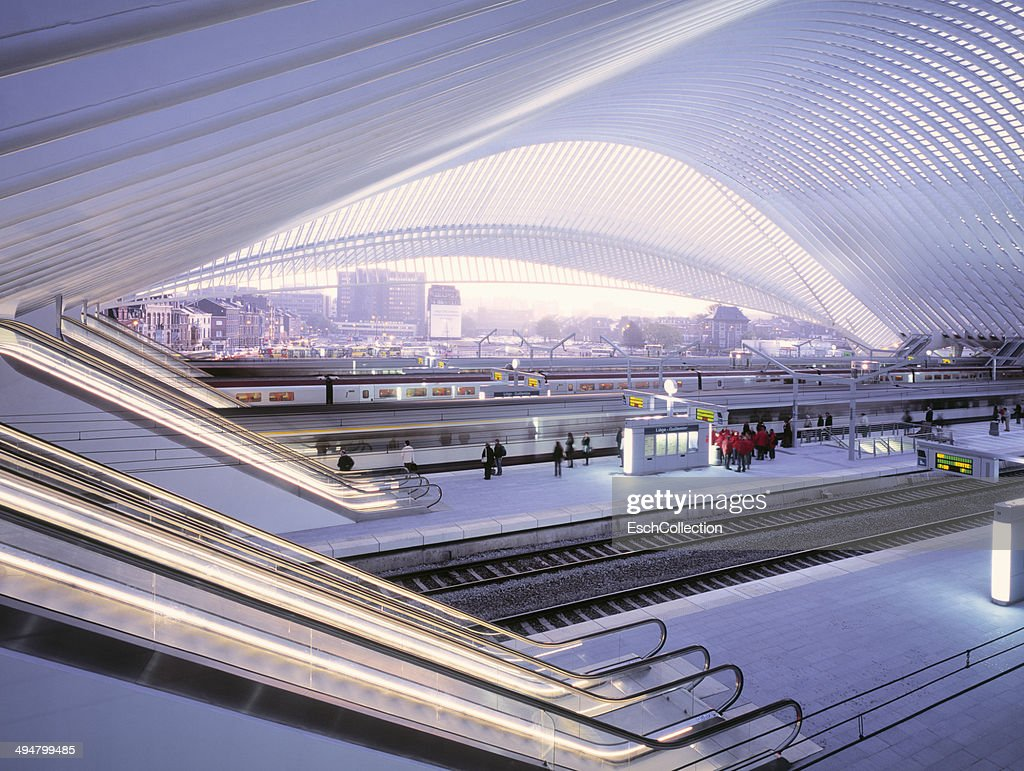 Liège Guillemins Train Station, Belgium
