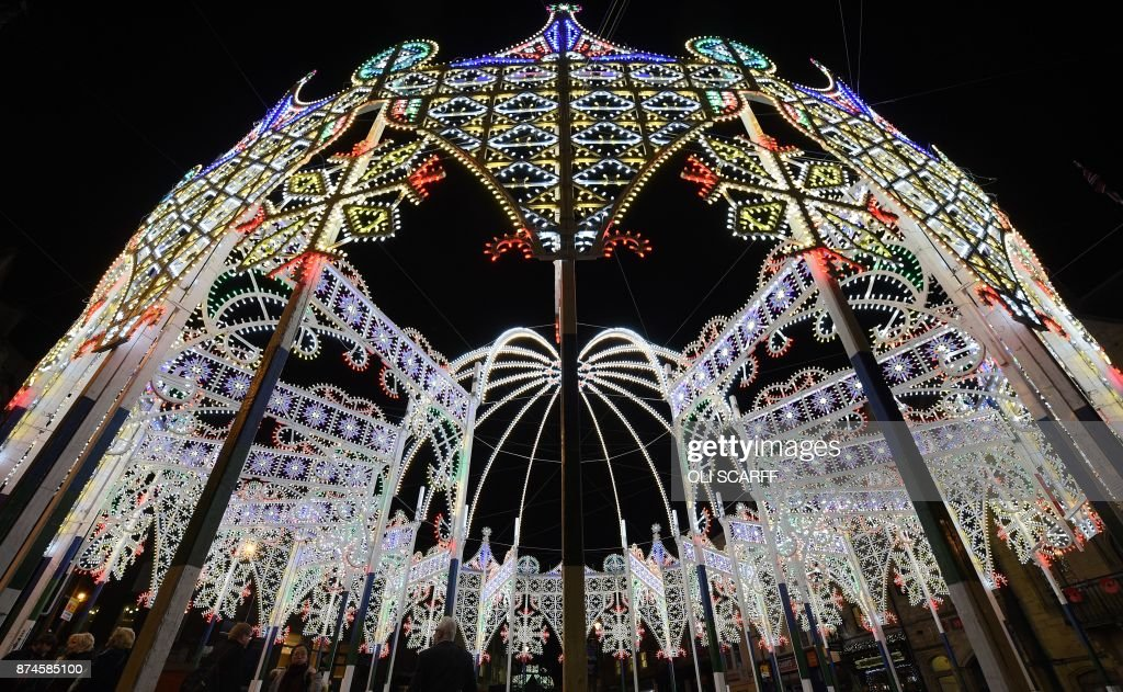 Spectacular Lumiere Festival Lights Up In Durham