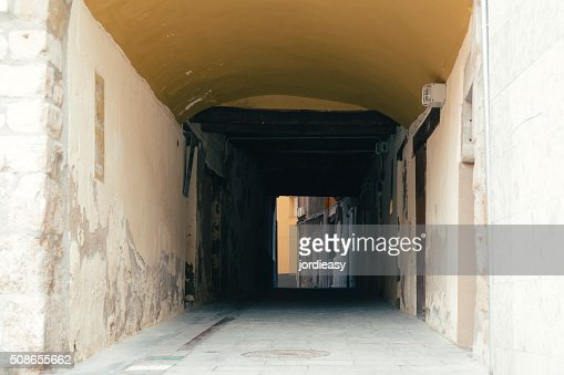 Light at the end of the tunnel : Stock Photo