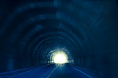 Driving thru a tunnel, I snapped this picture.