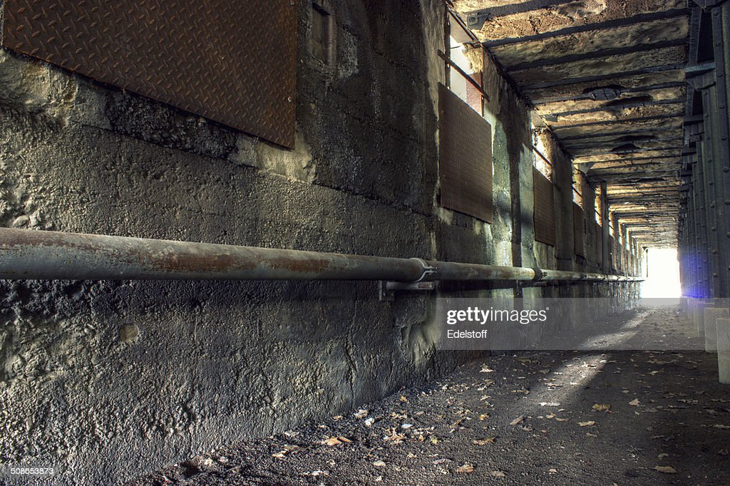Light at the end of tunnel : Stock Photo