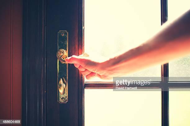 Light behind the door