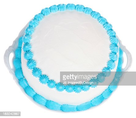 Light Blue and White Party Kuchen zu gestalten