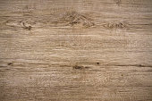 Directly above view of a light brown wood background.  This background features a distinguished wood grain pattern complete with light swirls, wavy lines and occasional knots. The color of the wood ap