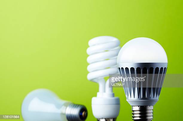 LED light bulb and Old-fashioned light bulb