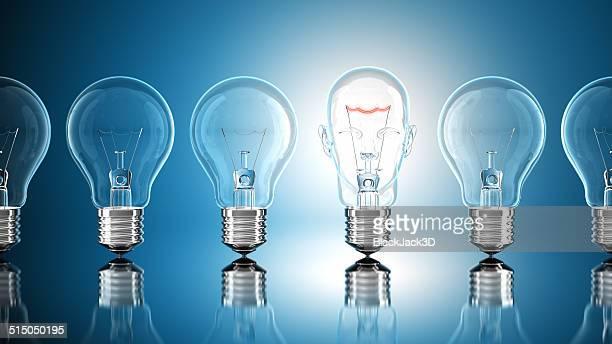 電球のコンセプト