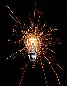 Light bulb flare