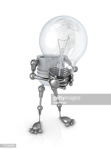 Light Bulb Robot