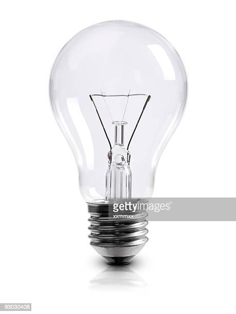 light bulb w clipping path