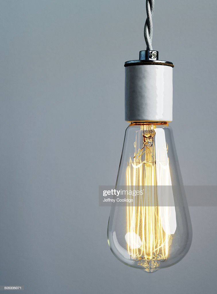 Light Bulb WIth Filament