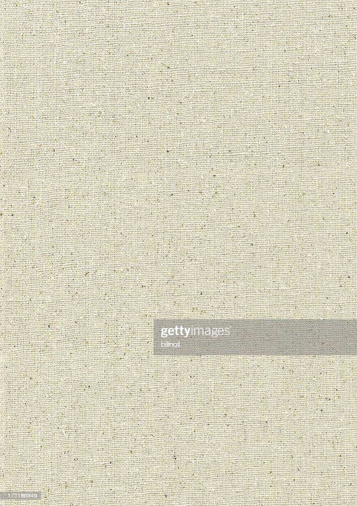 High resolution light canvas texture