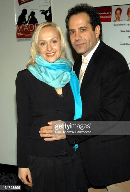 Light Eternity and Tony Shalhoub during 'MadeUp' Premiere New York at Angelika Film Centre in New York City New York United States
