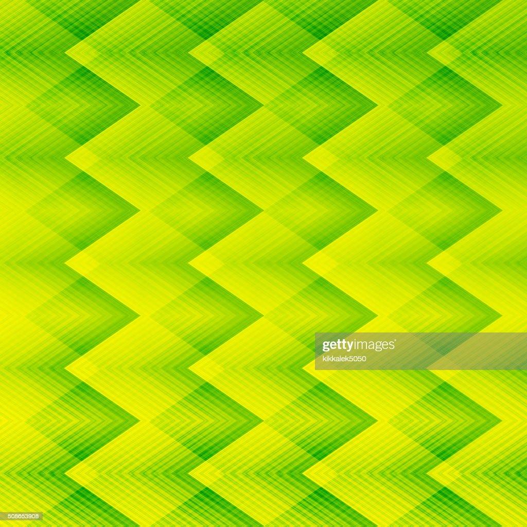 Light green zigzag pattern background : Stock Photo