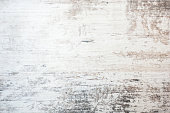 Light grey soft wood surface as background. Wooden textured surface