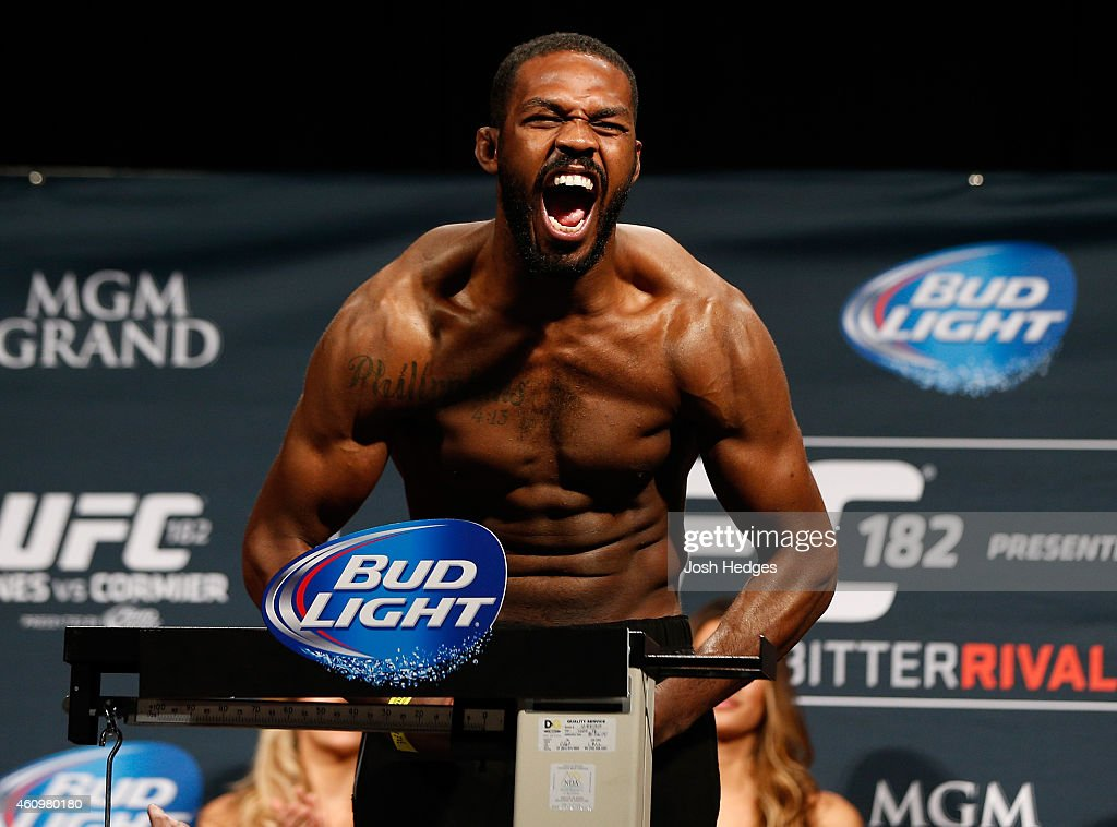 UFC 182: Weigh-ins