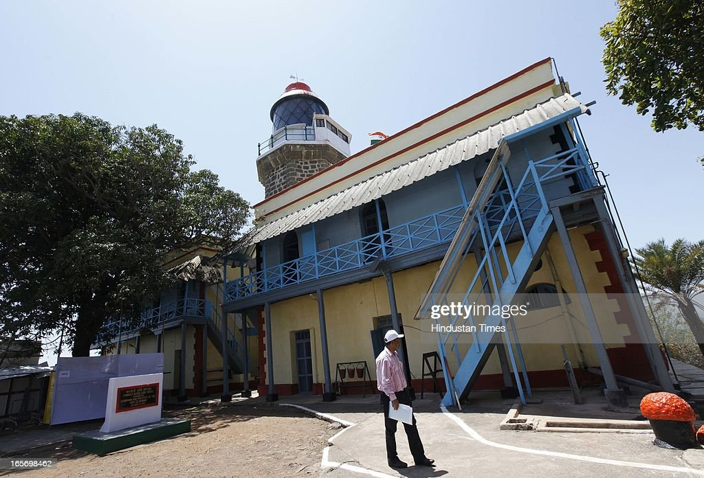 Light house at Kanhoji Island where minister of state for Shipping, Milind Deora launched the project of developing lighthouses as tourist spot on April 5, 2013 in Mumbai, India. Director general of lighthouses and lightships (DGLL) under ministry of shipping has taken up the task of developing selected lighthouses all along the coast at an estimated cost of Rs 350 crore.
