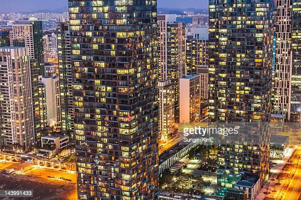 Light of city