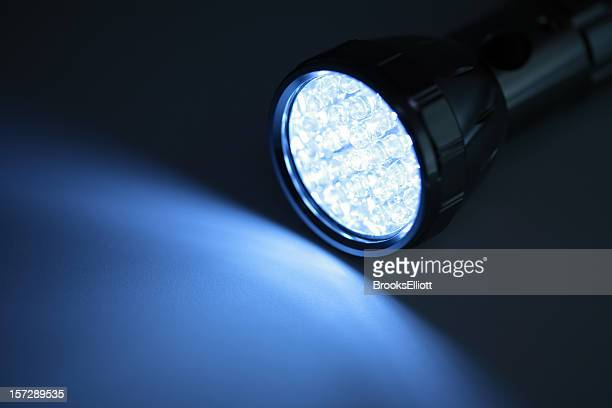 LED Light On Blue