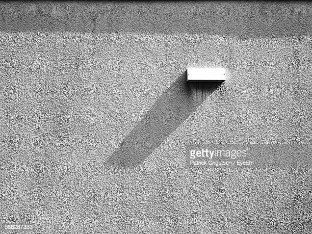 Light On Concrete Wall