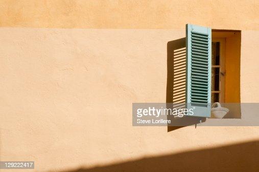 Light on window