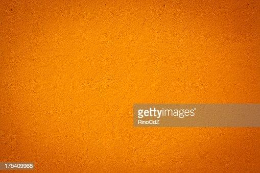 Orange Wand Textur