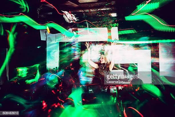 DJ, Peinture de lumière