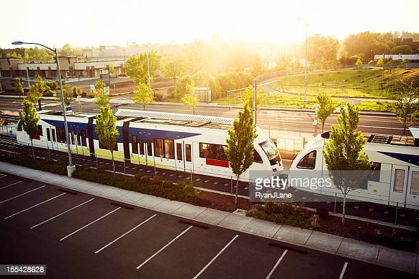 Light Rail les transports de Portland, Oregon