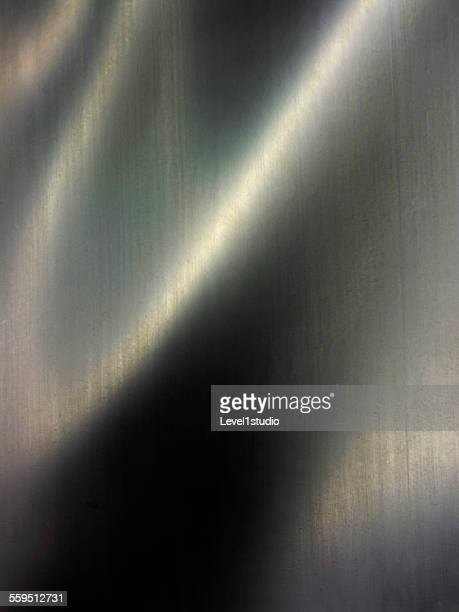 Light reflecting on a rubber material