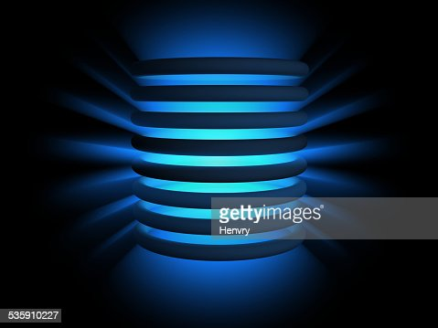 light rings : Stock Photo