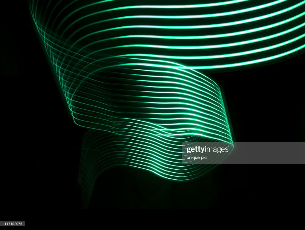 Light stripes : Stock Photo