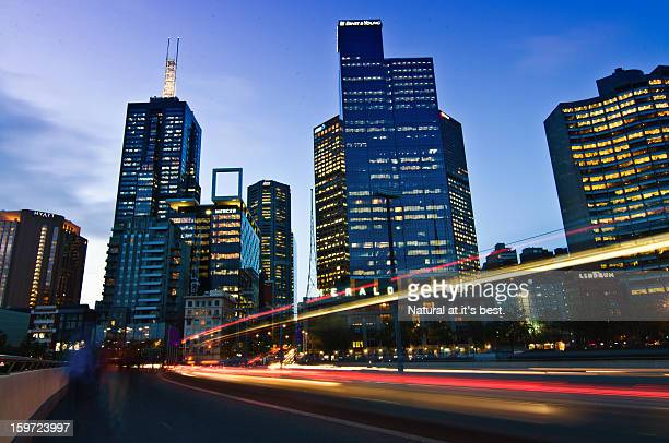 Light trail, Melbourne
