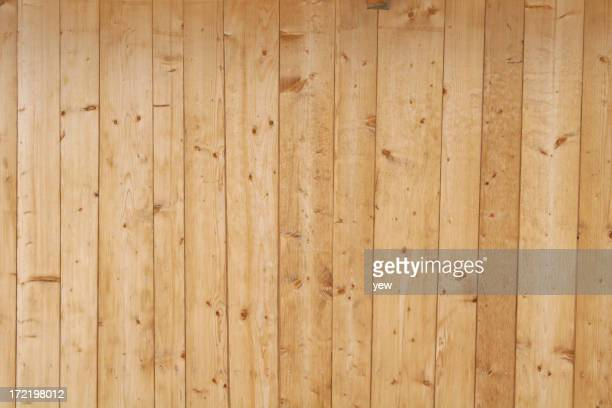 A light wooden fence background