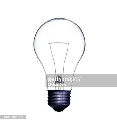 Lightbulb, close-up : Stock Photo