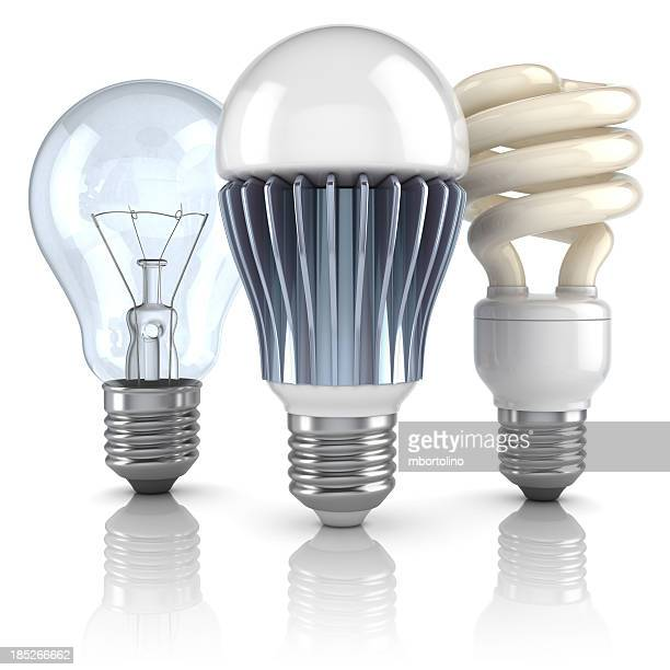 Lightbulb evolution concept