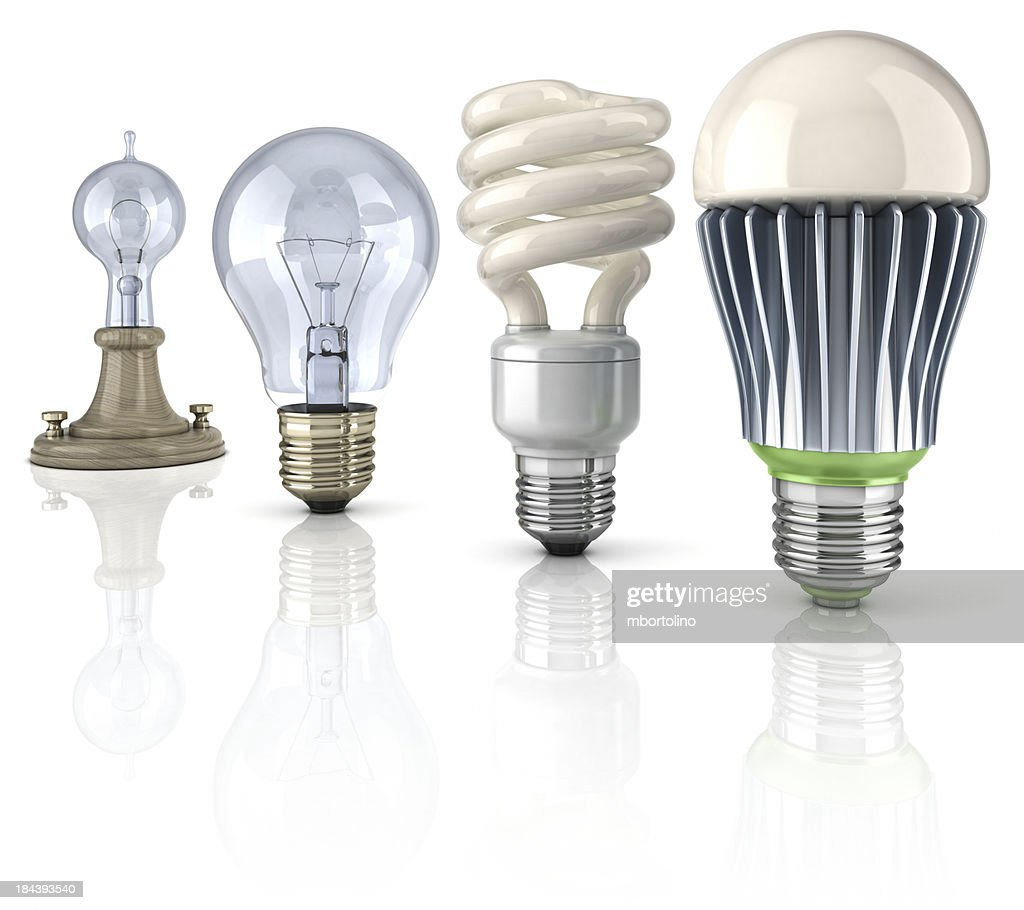 LED lightbulb evolution