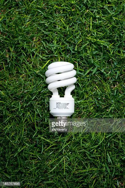 Glühbirne in Gass