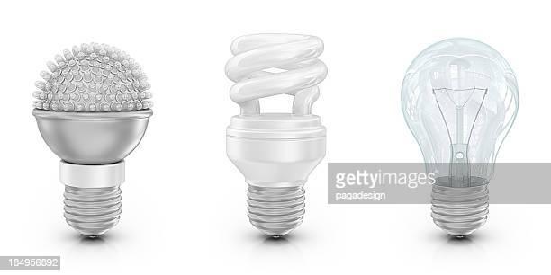 As lâmpadas